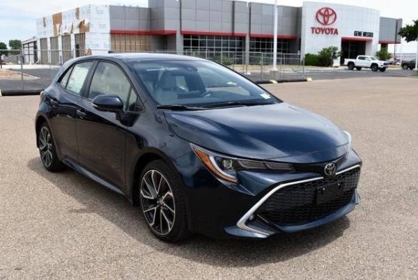 2020 Toyota Corolla Hatchback in Lubbock, TX