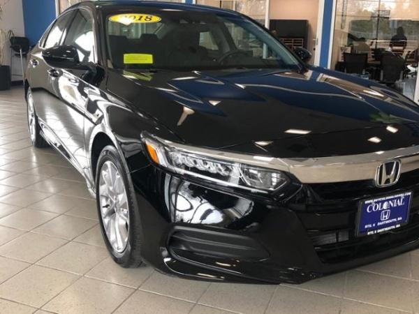 2018 Honda Accord in Dartmouth, MA