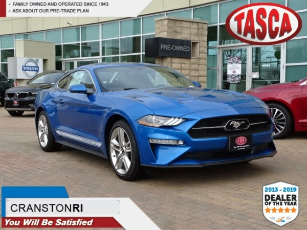 Tasca Ford Cranston >> 2019 Ford Mustang Ecoboost Premium Fastback For Sale In