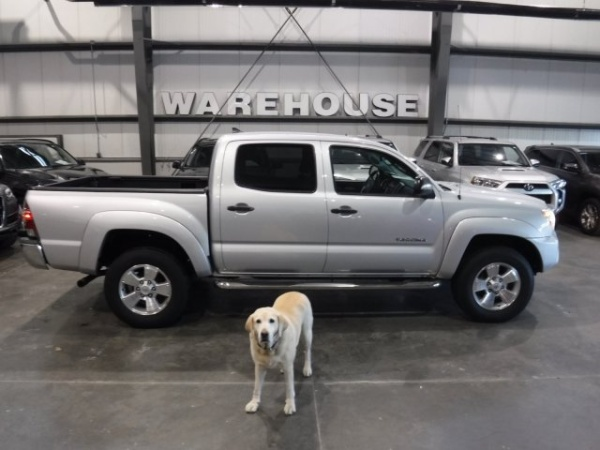 2012 Toyota Tacoma Double Cab 5' Bed V6 4WD Automatic
