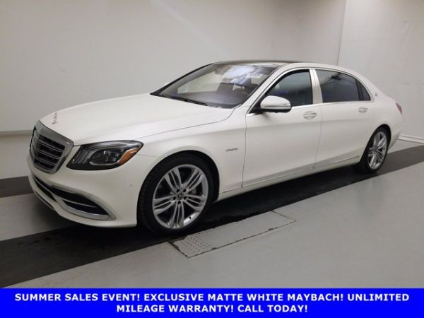 2018 Mercedes-Benz S-Class Mercedes-Maybach S 560 4MATIC