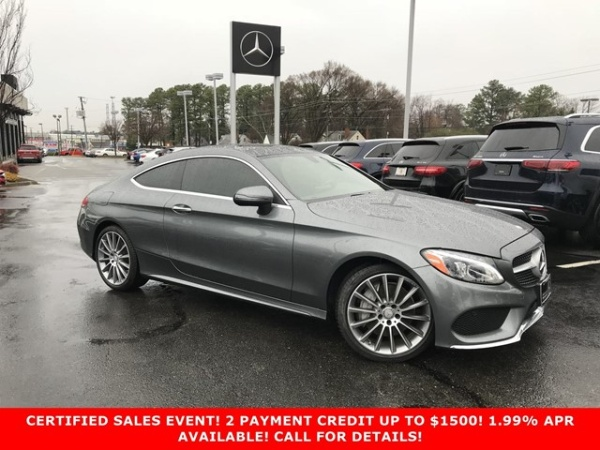 2017 Mercedes-Benz C-Class in Richmond, VA