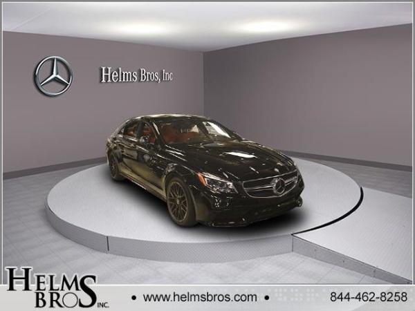 2016 Mercedes-Benz CLS AMG CLS 63 S-Model