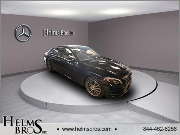 2016 Mercedes-Benz S S 550
