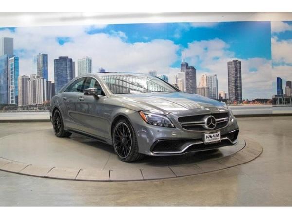 2017 Mercedes-Benz CLS-Class AMG CLS 63 S