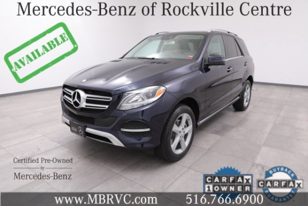 2016 Mercedes-Benz GLE in Rockville Centre, NY
