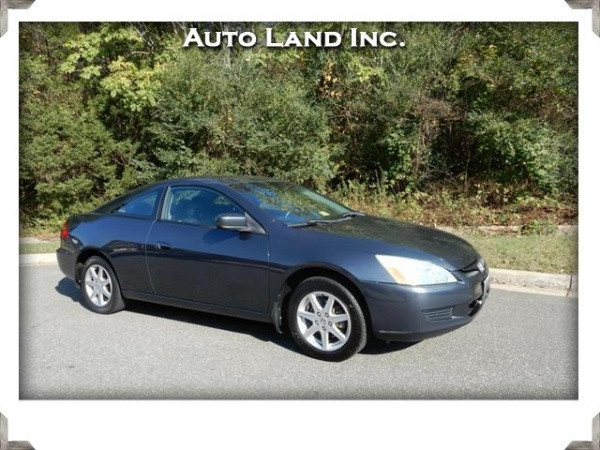 2003 Honda Accord EX V6 With Leather Coupe Automatic