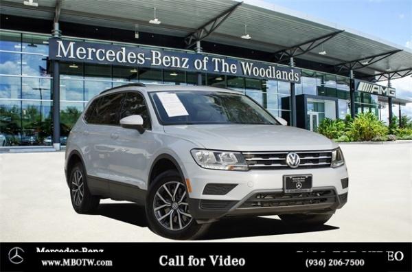 Volkswagen Of The Woodlands >> 2019 Volkswagen Tiguan Se Fwd For Sale In The Woodlands Tx