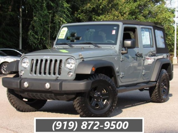2015 Jeep Wrangler in Raleigh, NC