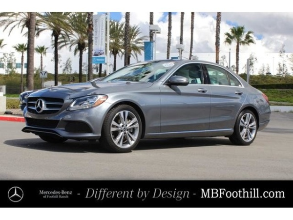 2017 Mercedes-Benz C-Class in Foothill Ranch, CA