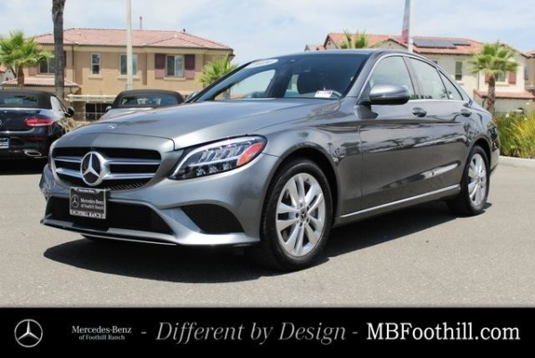 2019 Mercedes-Benz C-Class in Foothill Ranch, CA