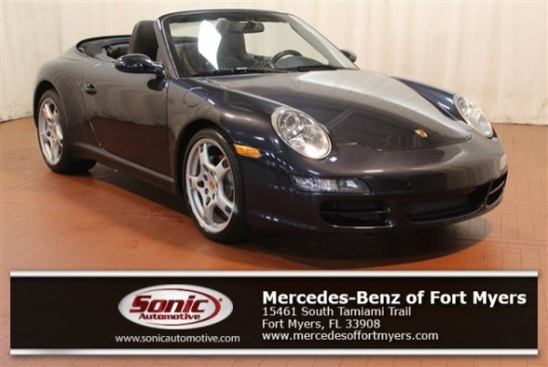Porsche Fort Myers >> 2007 Porsche 911 Carrera Cabriolet For Sale In Fort Myers
