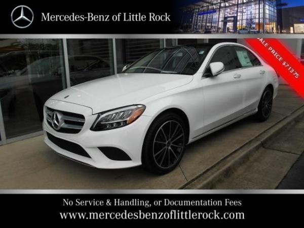 Mercedes Of Little Rock >> 2019 Mercedes Benz C Class C 300 Sedan Rwd For Sale In