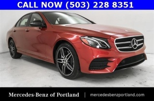 Mercedes Benz Of Portland >> Used Mercedes Benz E Class For Sale In Portland Or Truecar