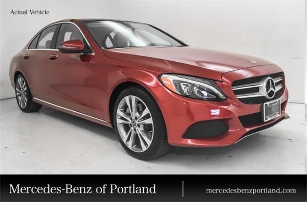 2018 Mercedes-Benz C-Class in Portland, OR