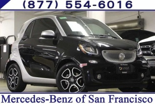 2017 Smart Fortwo Prime Coupe Electric Drive For In San Francisco Ca