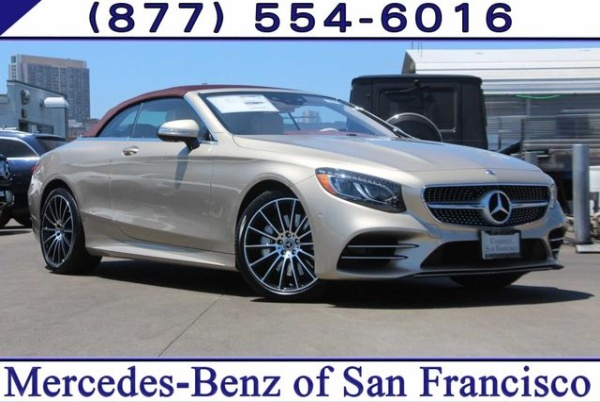 Mercedes Benz Of San Francisco >> 2019 Mercedes Benz S Class S 560 For Sale In San Francisco