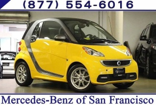 Used 2016 Smart Fortwo Pion Coupe Electric Drive For In San Francisco Ca