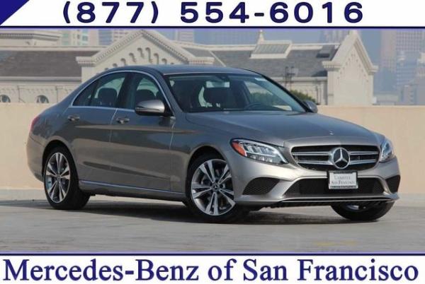 San Francisco Mercedes >> 2019 Mercedes Benz C Class C 300 Sedan Rwd For Sale In San Francisco
