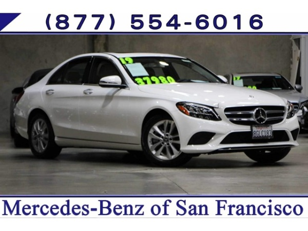 Mercedes Benz San Francisco >> 2019 Mercedes Benz C Class C 300 Sedan Rwd For Sale In San Francisco
