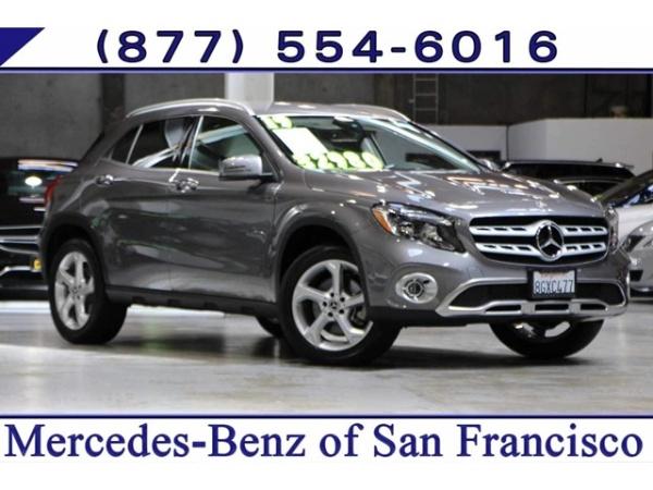 Mercedes Benz Of San Francisco >> 2019 Mercedes Benz Gla Gla 250 4matic For Sale In San Francisco Ca