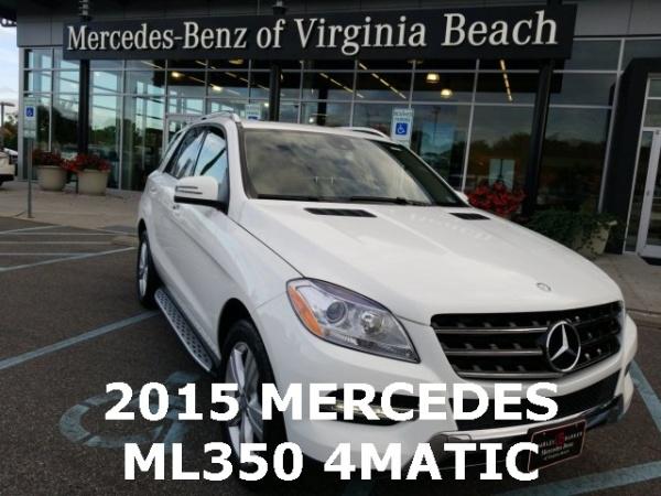 2015 Mercedes-Benz M-Class ML 350 4MATIC