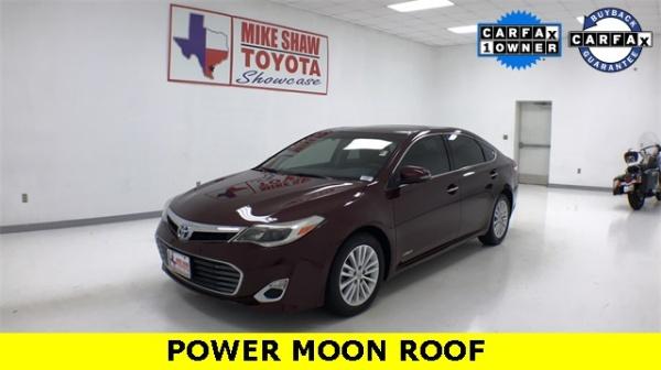 2015 Toyota Avalon Hybrid XLE Premium