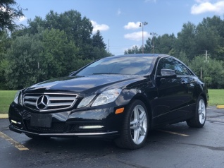 Used 2012 Mercedes Benz E Class E 350 4MATIC Coupe For Sale In Akron