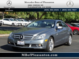 Used 2010 Mercedes Benz E Class E 350 Coupe RWD For Sale In Pleasanton