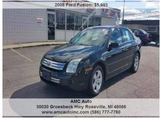 2008 Ford Fusion Se V6 Awd For In Roseville Mi