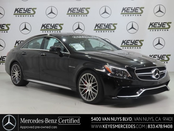 2016 Mercedes-Benz CLS-Class AMG CLS 63 S