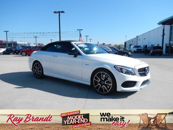 2017 Mercedes-Benz C-Class C 43 AMG 4MATIC Cabriolet For