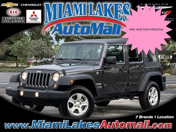 2018 Jeep Wrangler in Miami Lakes, FL