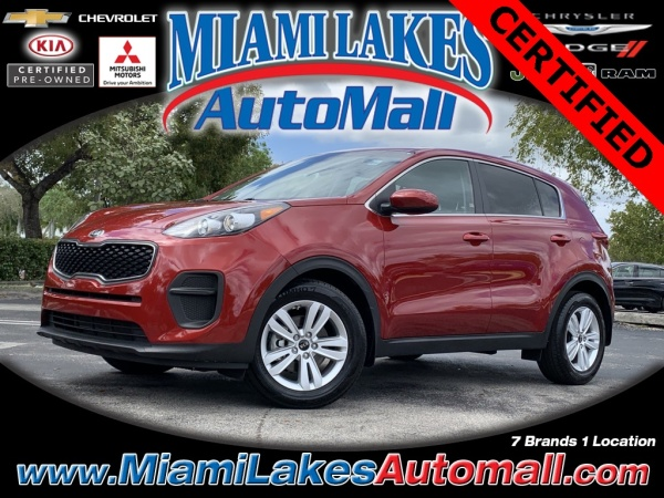 2019 Kia Sportage in Miami Lakes, FL