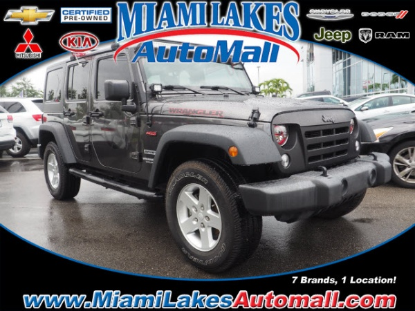 2016 Jeep Wrangler in Miami Lakes, FL