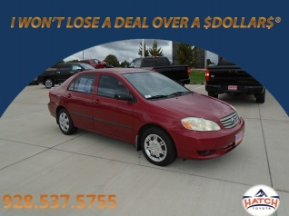 2003 Toyota Corolla Ce Automatic For In Show Low Az