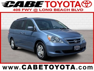ff60993dcf 2005 Honda Odyssey EX-L with Rear Entertainment System for Sale in Long  Beach