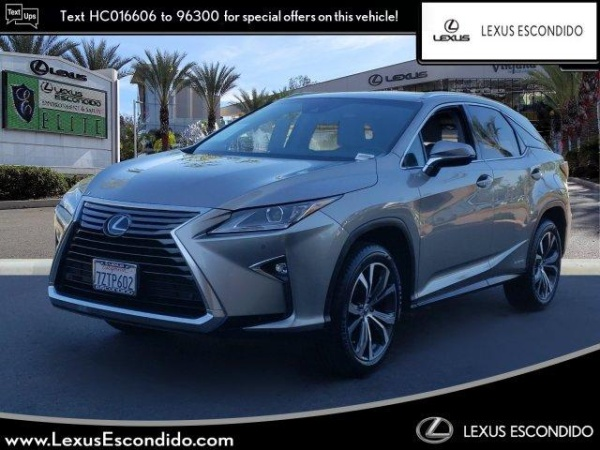 2017 Lexus RX in Escondido, CA
