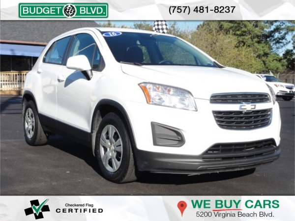 2016 Chevrolet Trax in Virginia Beach, VA