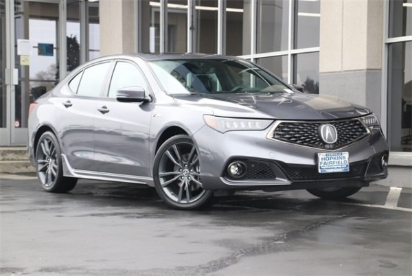 2018 Acura TLX 3.5L SH-AWD with A-Spec Package