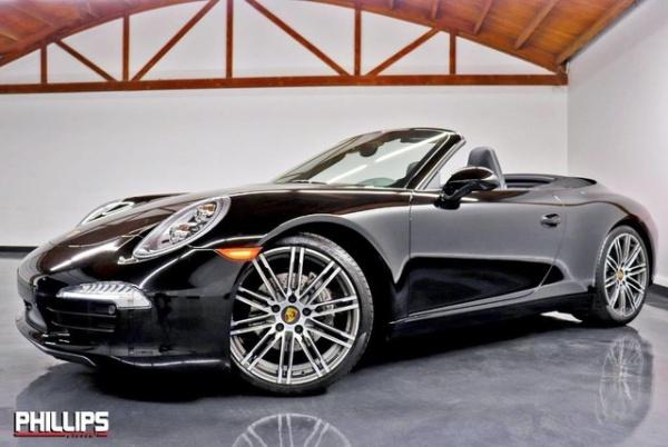 2016 Porsche 911 Carrera Black Edition