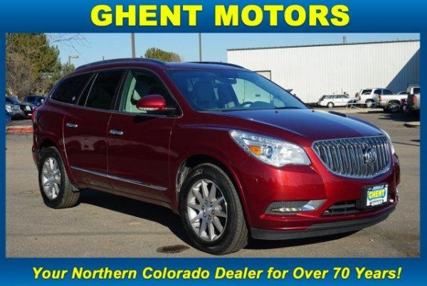 used buick enclave for sale in fort collins co u s news world report. Black Bedroom Furniture Sets. Home Design Ideas