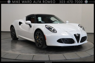 2018 Alfa Romeo 4c Coupe For In Highlands Ranch Co