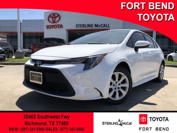 2020 Toyota Corolla in Richmond, TX