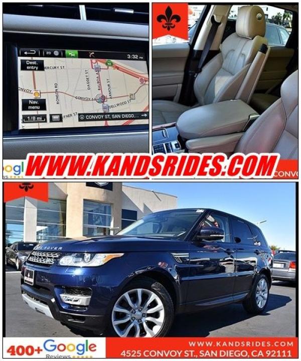 2015 Land Rover Range Rover Sport in San Diego, CA