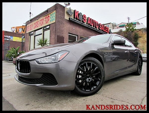 used maserati ghibli for sale in san diego ca u s news. Black Bedroom Furniture Sets. Home Design Ideas