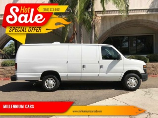 564034ce577e76 2008 Ford Econoline Cargo Van E-350 Super Duty Ext Commercial for Sale in  San