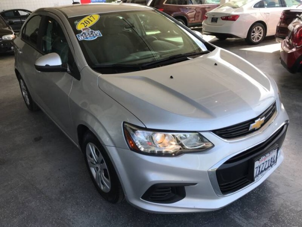 2017 Chevrolet Sonic in Davis, CA