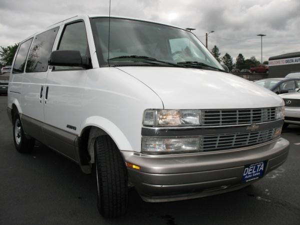 2002 Chevrolet Astro Base