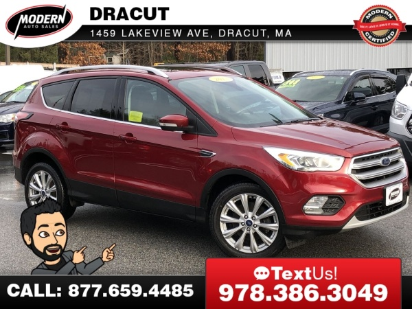 2017 Ford Escape in Tyngsboro, MA